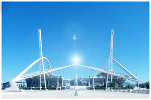 Olympic Stadium by w-i-s-h