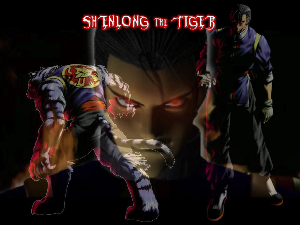SHENLONG the TIGER by Twist-Ercia