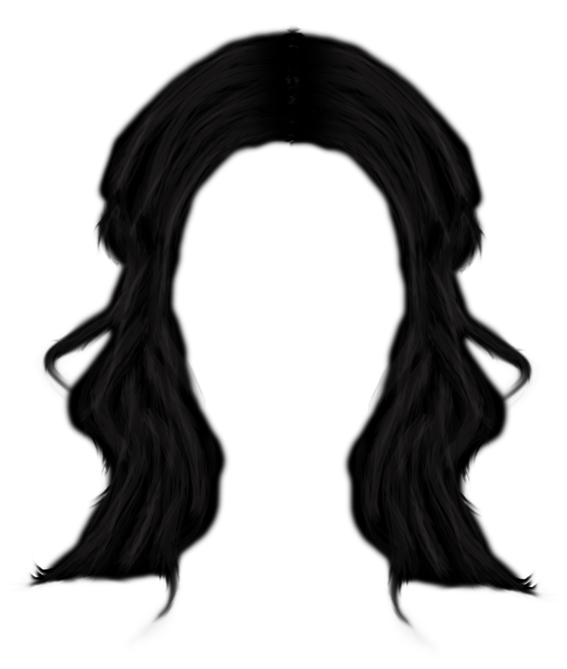 Hair Png Long hair png by