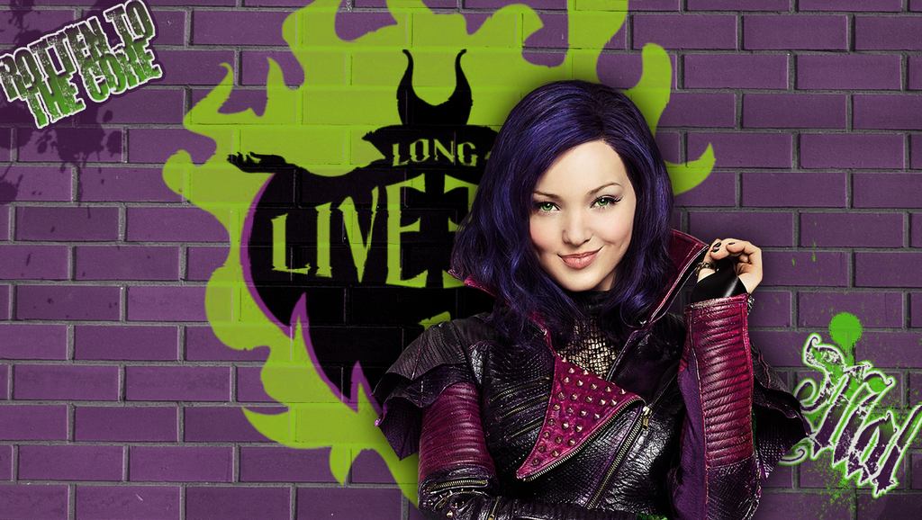 Descendants Mal Wallpaper By Autumns Muse On Deviantart HD Wallpapers Download Free Images Wallpaper [1000image.com]