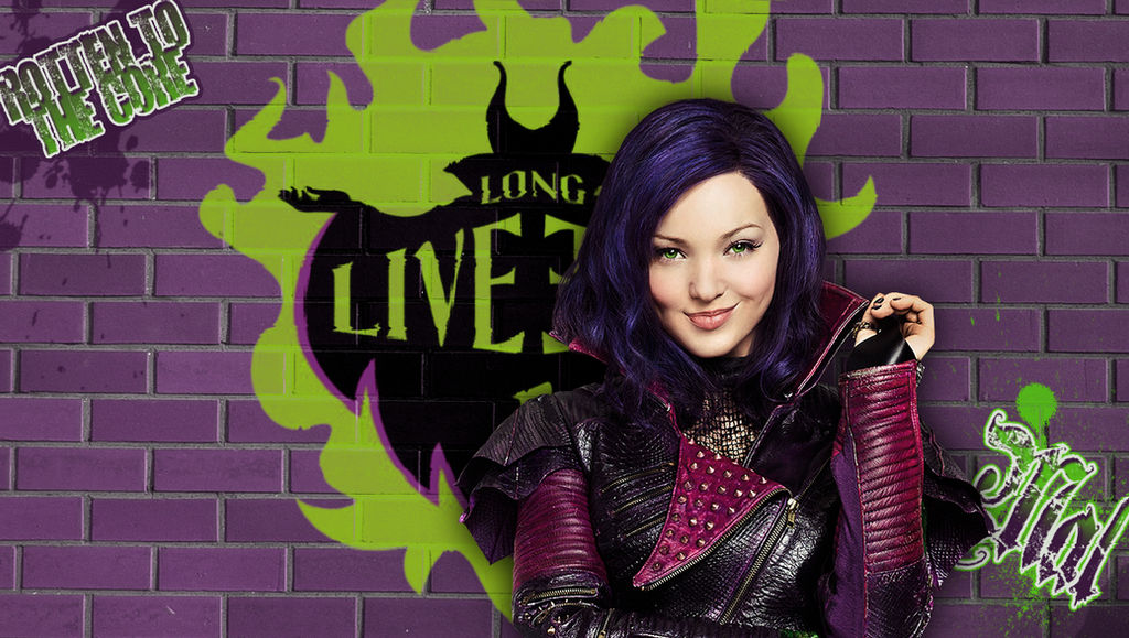Descendants - Mal wallpaper by Autumns-Muse ...