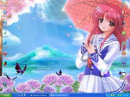 Background of anime girl by Riku-Sayoko