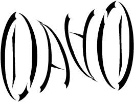 Ambigram - David by shaadyoga