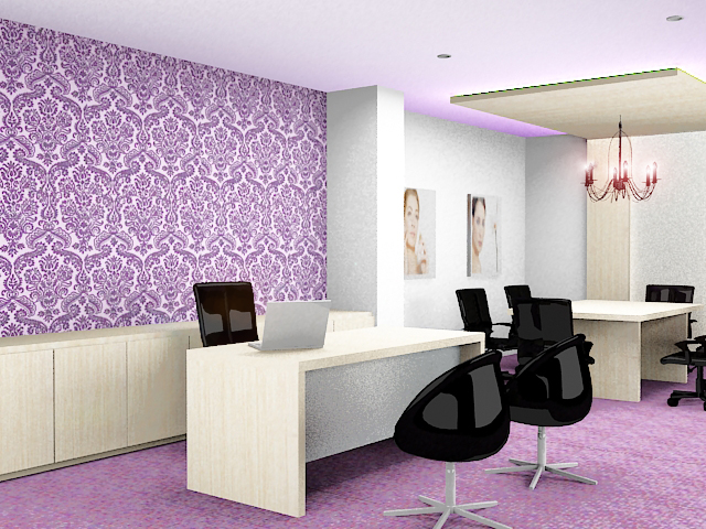 Awesome Purple Office By Emorhapsody ...