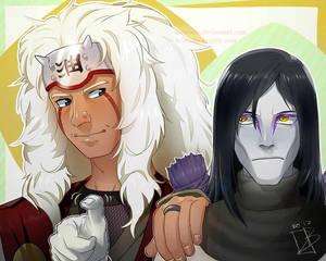 Gift:Orochimaru and Jiraiya