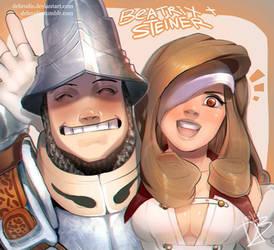 Gift: Steiner and Beatrix