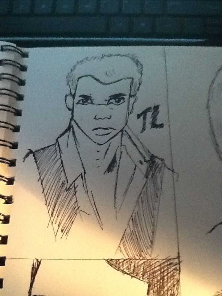 Some Celeb Sketches by SesshosGirl