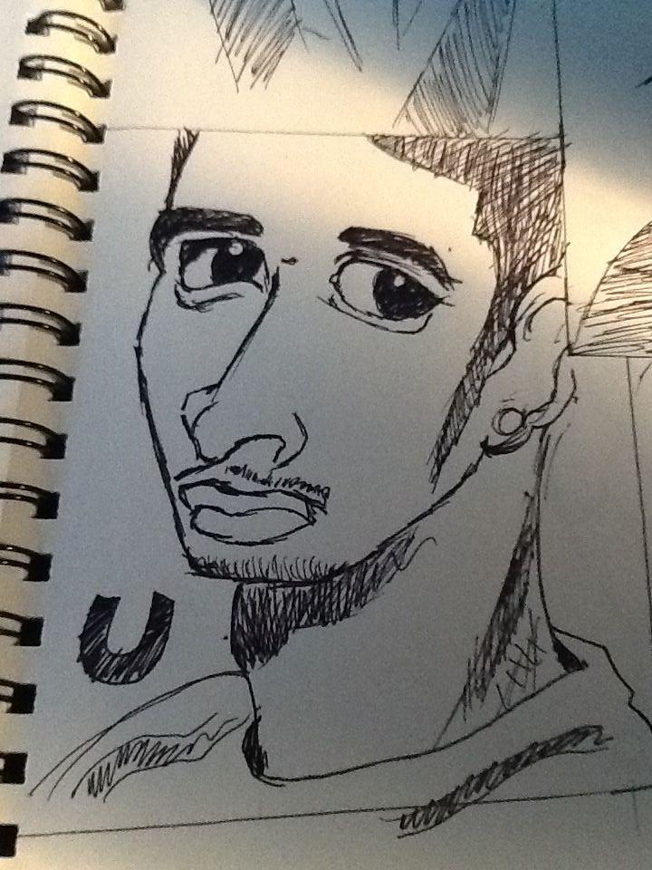 Some Celeb Sketches 2 by SesshosGirl