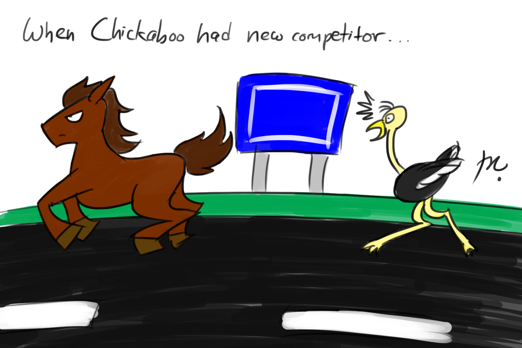 Muffy's Doddle #6: Chickaboo's New Competitor by theaproject