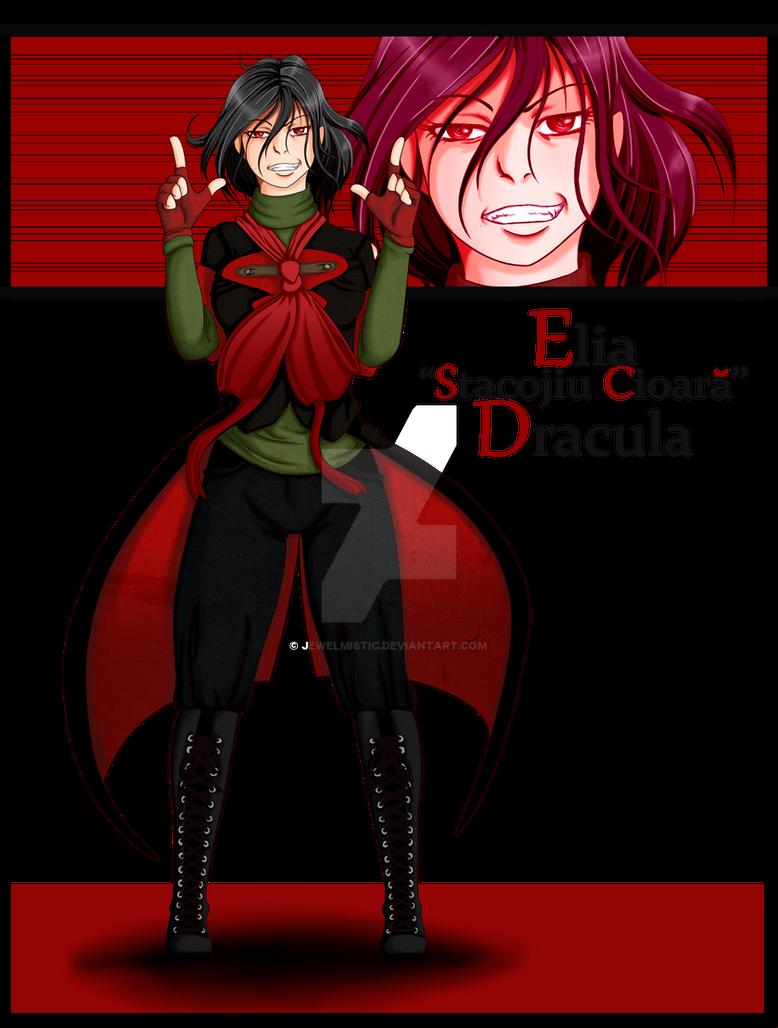 hellsing oc elia scarlet crow dracula by jewelmistic on