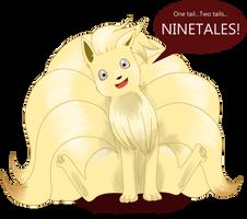 NINETALES! by JewelMistic
