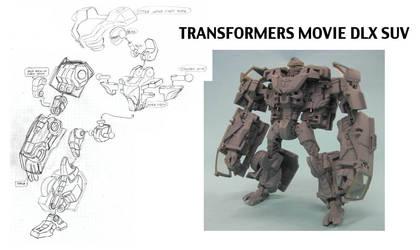 Transformers Movie 1 DLX SUV