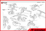 Transformers Animated Prowl Sketches