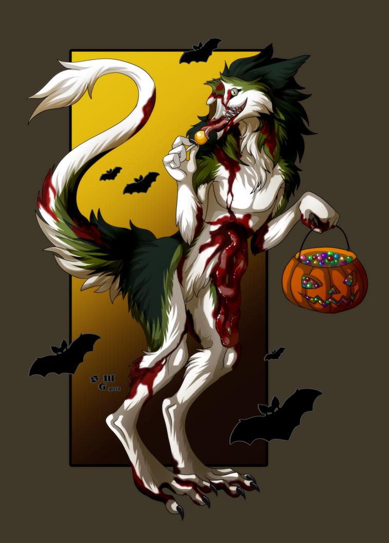 Scary cute by SilvergriN-w