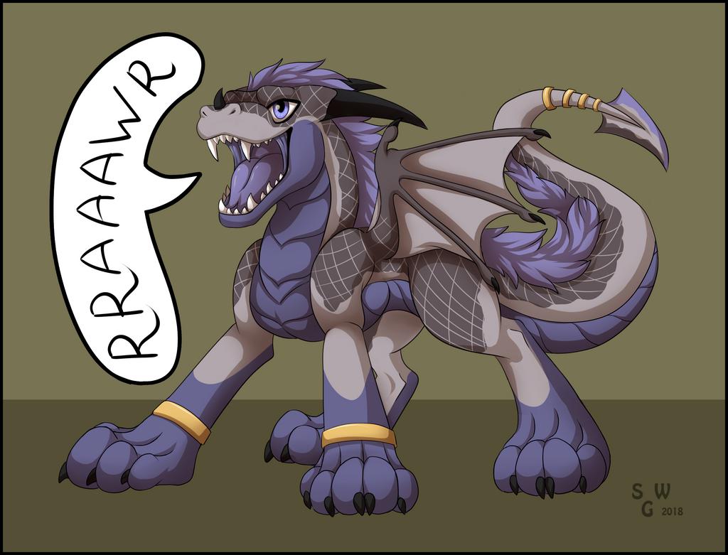 Rraaaawr by SilvergriN-w