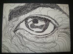 Pen And Ink Eye