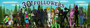 30 Followers (Erwin and his Tumblr)