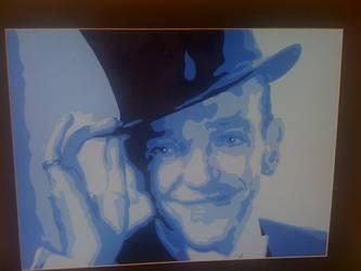 Fred Astaire pop art by JAnn39