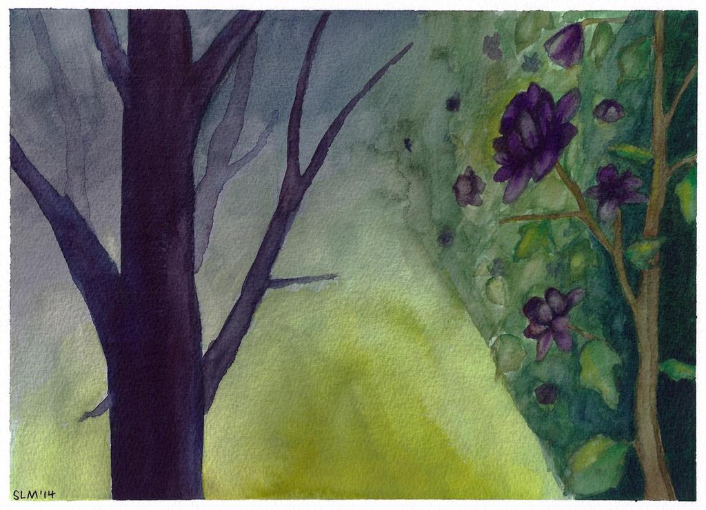 Dark Garden by ArtsyWright