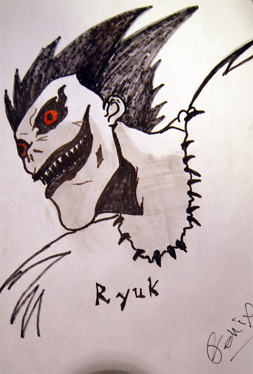 Shinigami - Ryuk by malefique on DeviantArt