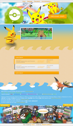 Pokemon Network Skin by closhdesign