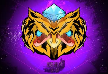 owl junkie - Il gufo drogato by closhdesign