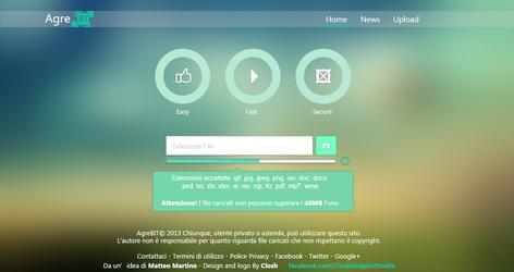 AgreBIT uploader v.1.0 by closhdesign