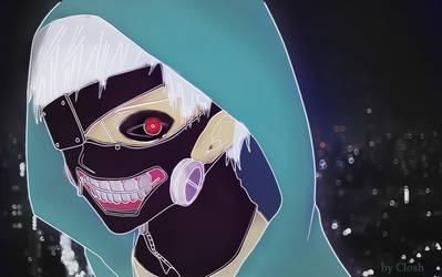 Kaneki Ken Tokyo Ghoul by closhdesign