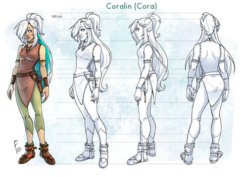 Cora turn around