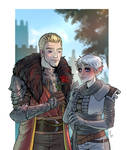 Dragon Age Love - Commission by ElenaFerroli