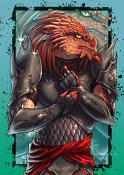 Dragonborn DnD - Commission by ElenaFerroli
