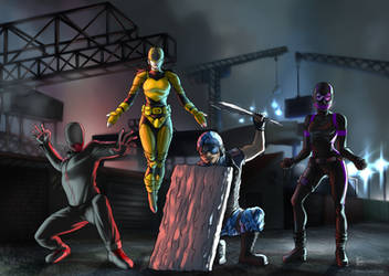 Heroes - Commission by ElenaFerroli