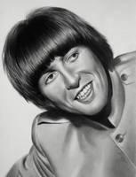 George Harrison by luceene-k