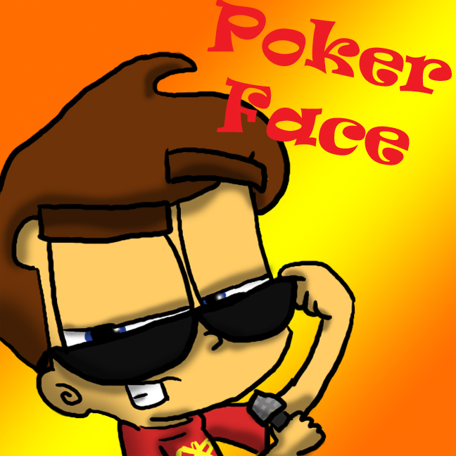 On the rocks poker face