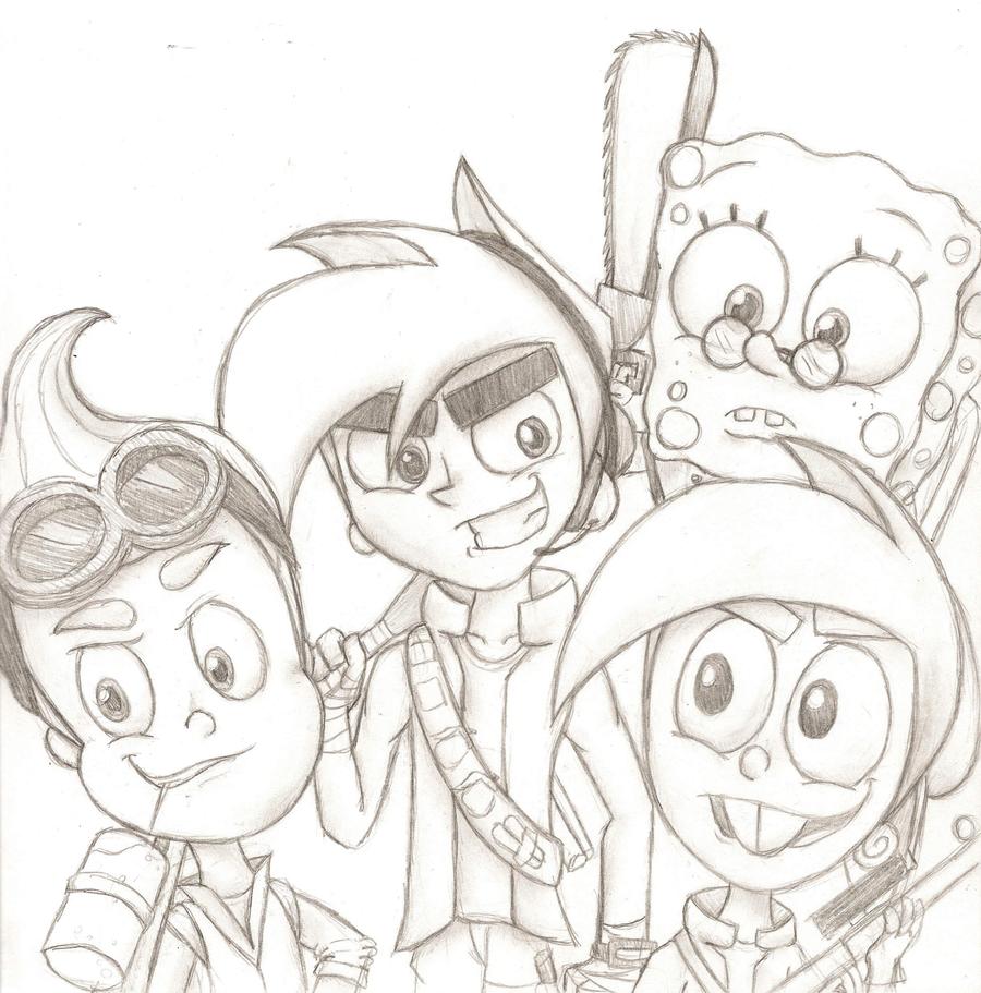 Team Nicktoons by Nicktoonacle