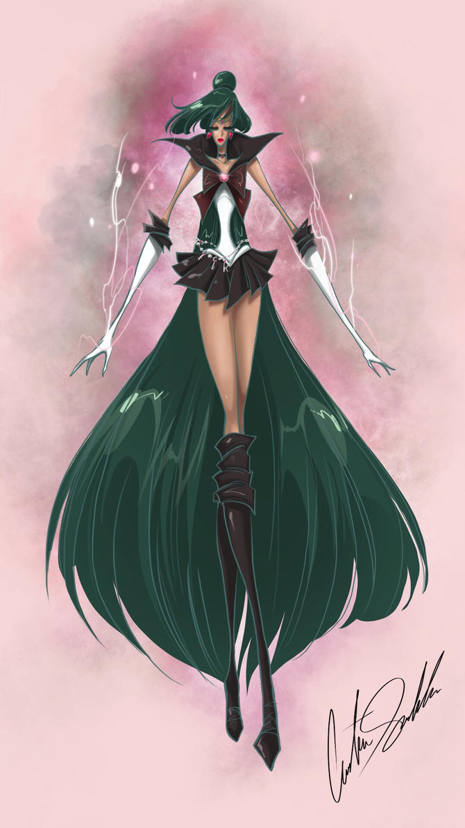 Sailor Pluto by ShadowMaster23