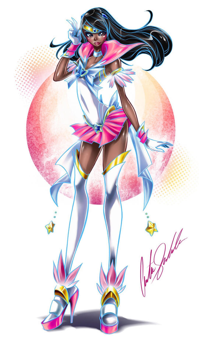 Sailor Pretty In Pink  by ShadowMaster23
