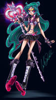 Sailor Pluto Reboot by ShadowMaster23