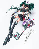Sailor Pluto Keyblade Master by ShadowMaster23