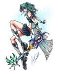 Sailor Neptune Keyblade Master
