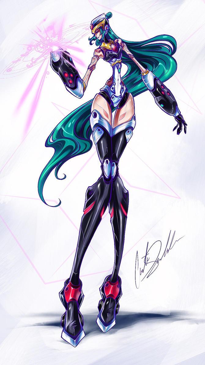 Sailor Mega Pluto by ShadowMaster23