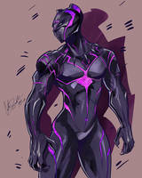 Black Panther by ShadowMaster23