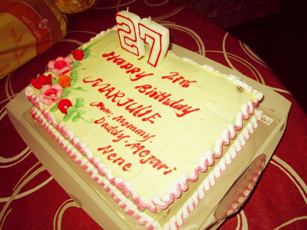 Поздравления на день рождения на 27 лет 6