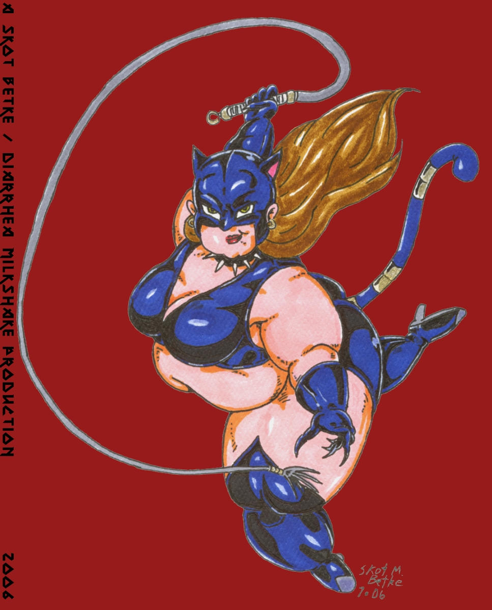 Fat-Cat Woman by MetalmanX