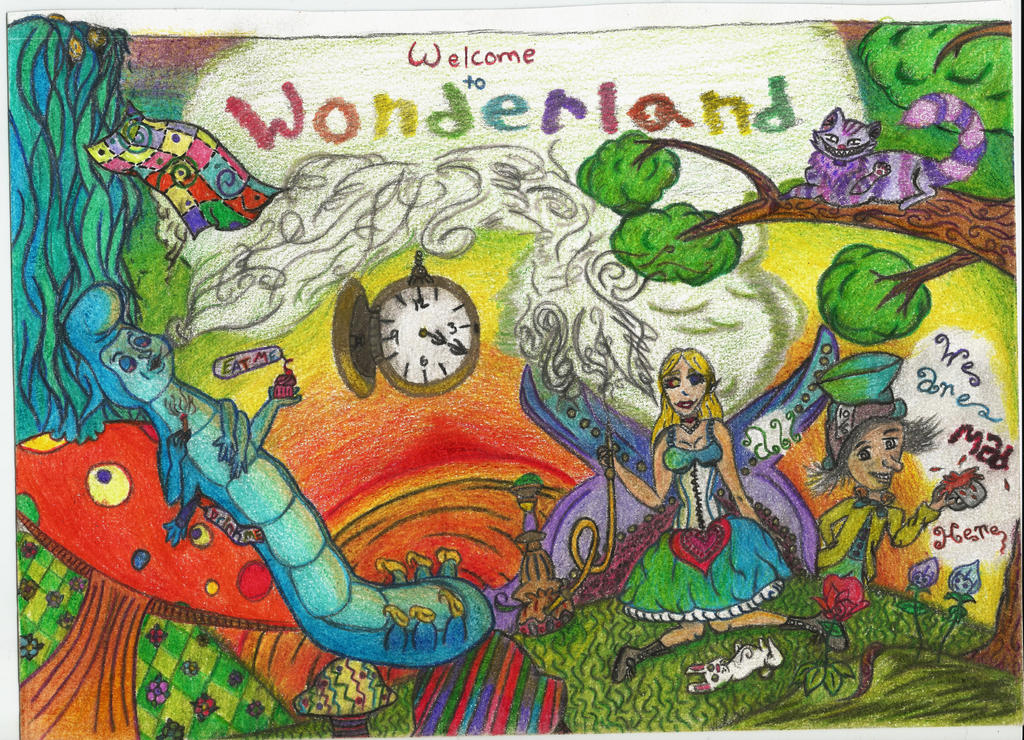 Welcome to Wonderland (colored)