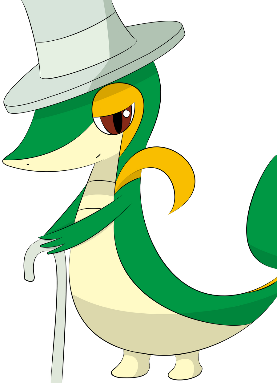 The Holy Snivy? by RussellStar on DeviantArt