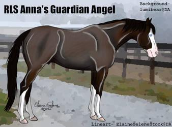 RLS Anna's Guardian Angel by RoseLillyStudios