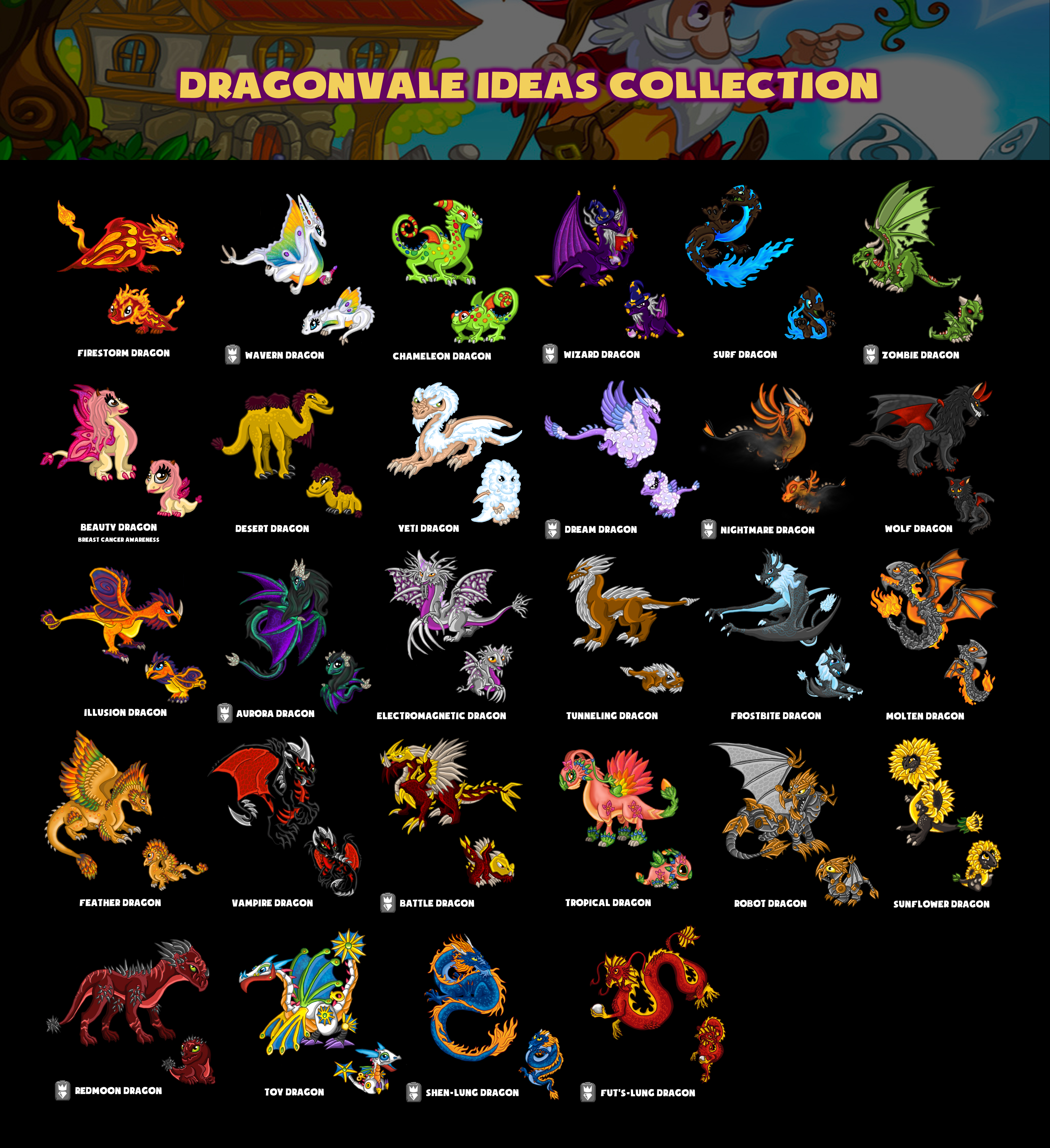 My Collection Of Dragonvale