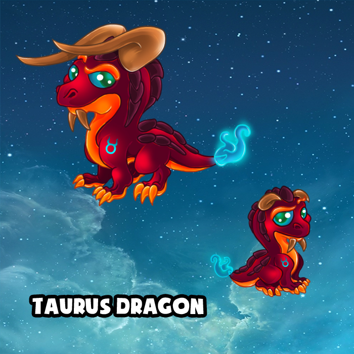 Taurus Dragon Dragonvale (CONCEPT ONLY) by lalafox456