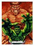 Hulk Sketch Card Joe Jusko tribute